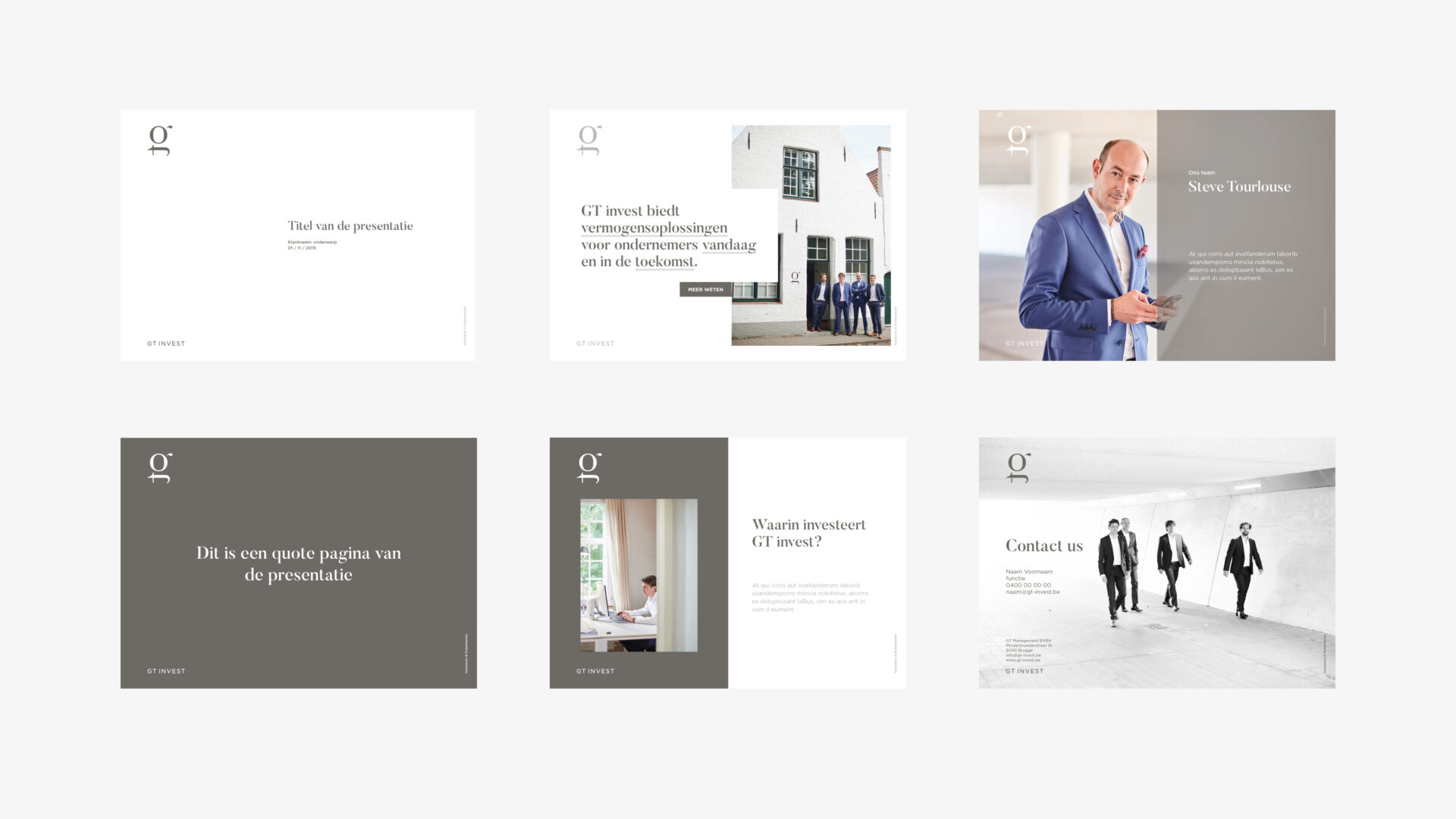 GT-Invest – MOQO Branding – Presentatie – Lay-out – Visual Identity